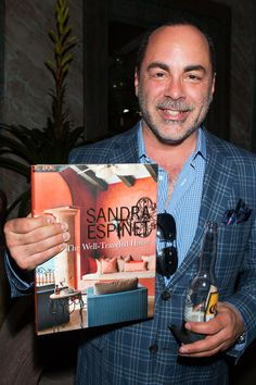 Anthony Monaco at The Well-Traveled Home by Sandra Espinet book signing at Berbere World Imports in Los Angeles, May 2014. #thewelltraveledhome #sandraespinet #interiordesign #berbereworldimports