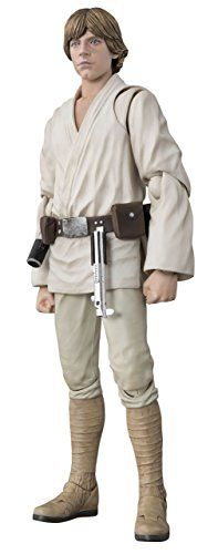 BANDAI SH Figuarts Star Wars Luke Skywalker A NEW HOPEabout 150mm ABS u0026 PVC painted action figure ** Click on the image for additional details.Note:It is affiliate link to Amazon.
