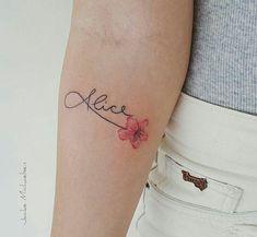 Trendy Ideas For Tattoo Femininas Delicada Filhos Delicate Tattoos For Women, Feminine Tattoos, Trendy Tattoos, Small Tattoos, Cool Tattoos, Soft Tattoo, Tattoos For Kids, Tattoos For Daughters, Neue Tattoos