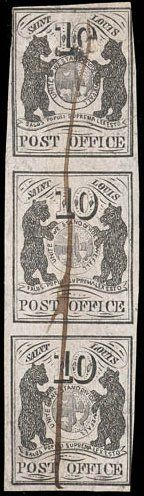 St Louis Bear strip makes $23,000 at stamp auction