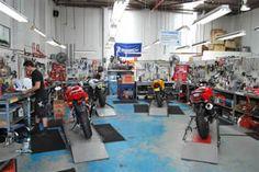 Dream garage motorcycle dream garage pelican parts technical motorcycle repair shop sciox Images