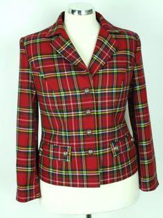 Kabátik krátky káro kilt s fazónou /žlto- bielo- červený