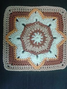Free crochet granny square pattern                                                                                                                                                     More