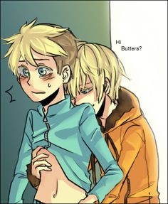 Image result for butters cute south park anime