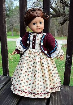 Little Women: Meg Civil War Dress,Outfit,Clothes for American Girl -Lumi in Dolls & Bears, Dolls, By Brand, Company, Character, American Girl, Other American Girl Dolls | eBay