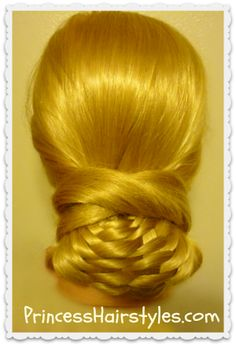 Woven #Updo Hairstyle Tutorial
