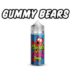 The name says it all, super fruity medley of sweet goodness just like the gummy candy bears. 100ml - 0mg - 70vg - 30pg