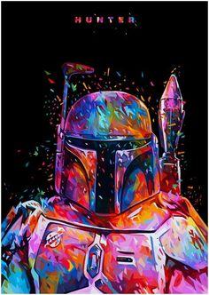 Boba Fett Star Wars bounty hunter