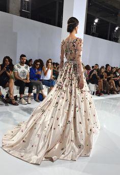 runwayandbeauty: Georges Hobeika Haute Couture Fall 2015-16.