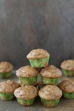 Mini Chai Muffins with Vanilla Bean Glaze | www.reciperunner.com