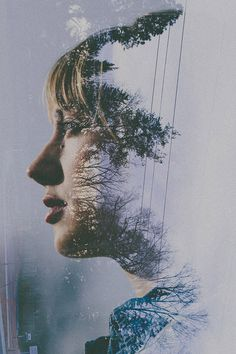 SARA K BYRNE'S MULTI-LAYERED PORTRAITS ~ Canon 5D Mark III Double Exposure Tutorial