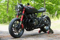 "Honda CB750 ""Scorpion"" by Industrial Moto"