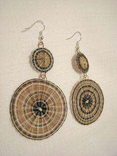 Aros de crin Rari, Chile Chile, Horse Hair, Bohemian Jewelry, Wearable Art, Jewerly, Crochet Earrings, Jewelry Making, Drop Earrings, Handmade