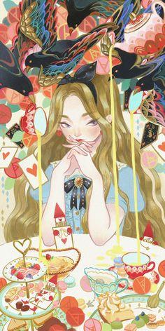 爱丽丝 | Kuri - 原创作品 - 涂鸦王国