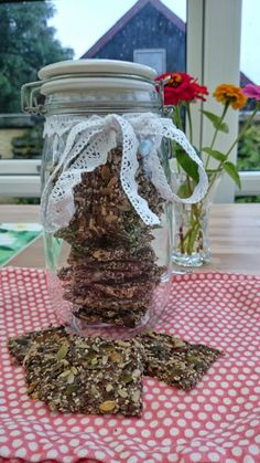 Dough Recipe, Lchf, Bird Feeders, Nom Nom, Food And Drink, Low Carb, Snacks, Table Decorations, Baking