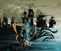 """Victarion Greyjoy by ~dejan-delic (A Song of Ice and Fire) """"Every man should lose a battle in his youth, so he does not lose a war when he is old."""""""