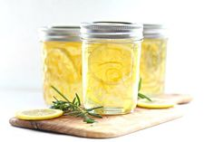 Recipe: Lemon Rosemary Jelly