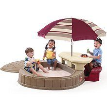 Kids' Picnic Tables - Step2 Naturally Playful Summertime Play Center >>> You can get more details by clicking on the image.