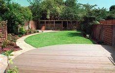 Image result for curved garden