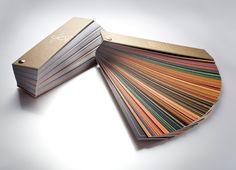 Ventaglio Oro, il giusto strumento per far conoscere i prodotti e mostrarli facilmente e velocemente. #colori #painting #giorgiograesan #oro