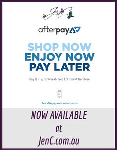 AfterPay is now available at JenC!