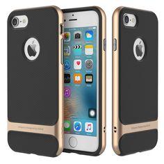 Kryt na iPhone 7 - ROCK Royce series RR zlatý