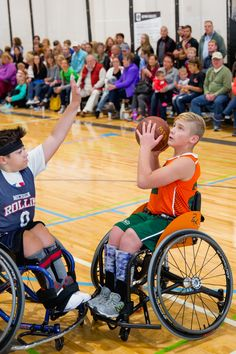 https://flic.kr/p/GoHJMP | Jr. Pacers Wheelchair Basketball Home Tournament @ Mary Free Bed YMCA - Nov 4, 2017