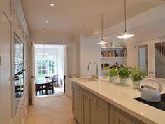 harris Kitchen Decor, Kitchen Design, Kitchen Ideas, Open Plan Kitchen Living Room, Victorian Homes, Country Kitchen, Home Kitchens, Classy, Athens