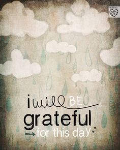 i will be grateful for this day ~ vol25 on Etsy.
