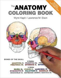 The Anatomy Coloring Book 9780321832016 Medicine Health Science Books Amazon