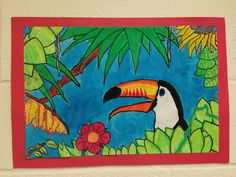 Toucan Painting Middle School