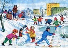 Картинки по запросу времена года зима для детей