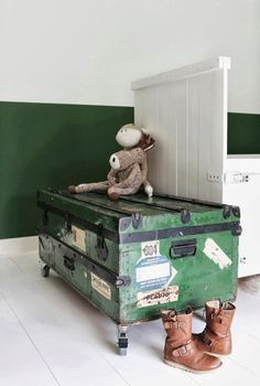 A kids 'tickle trunk' - as the years roll by, the treasures within will change, but the love for the trunk itself, will only deepen with time! - I've had my trunk for 55 years!