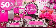 Zebra Party Personalize It Suppplies