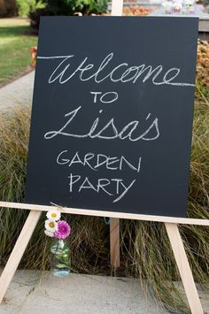 Lisa's Garden Party Part One- The Pretty Details | All The Frills
