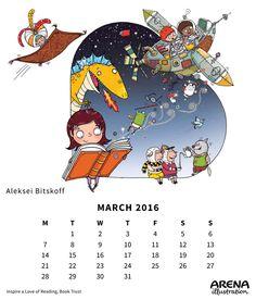 illustration for Book Trust Art And Illustration, List Of Awards, Calendar March, Childrens Books, Illustrators, Web Design, My Arts, Trust, Creative