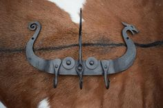 Hand Forged Ukko's Hammer Viking Age Necklace, comes supplied with jewelry cord Forging Tools, Blacksmithing Knives, Blacksmith Tools, Blacksmith Projects, Forging Metal, Viking Runes, Viking Age, Viking Longship, Ideas Joyería