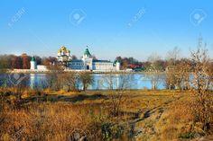 Ipatievsky monasterio en la ciudad de Kostroma, Rusia temporada de otoño Foto de archivo - 22155455