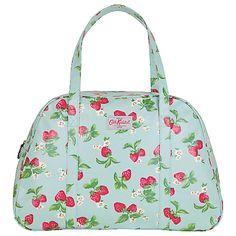 kidston weekend bag strawberry blue £ 60 caths classic weekend bag ...