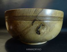 Large Hand turned Olive Ash Wood, Wooden Fruit Bowl or Table Decoration. Gift Ideas for Special Occasion Wooden Fruit Bowl, Walnut Oil, Wood Creations, Serving Bowls, Ash, Special Occasion, Gift Ideas, Table Decorations, Tableware