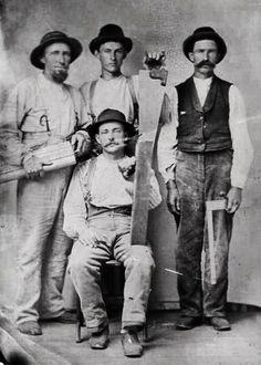 Carpenters in the 1850s