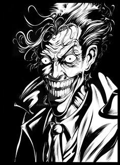 joker by ashasylum on @DeviantArt