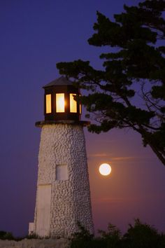 Buckroe Beach Virginia Light House  I was lucky to be there during the full moon, it was beautiful on the beach