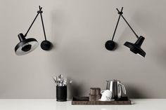 DIY - Inspiration til din egen garderobe - Desk Lamp, Table Lamp, Cement Art, Ikea Hackers, Nice France, Wine Storage, Bathroom Lighting, Countertops, Small Spaces