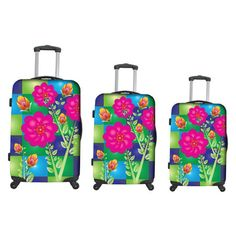 I pinned this 3 Piece Feng Shui Luggage Set from the Heys USA event at Joss and Main!