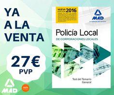 Policia local, libros de oposiciones, oposiciones policía, policia