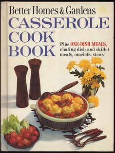 US $4.95 Casserole Book for sale on eBay Mid Century Modern Cooking