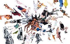 Fashion collage by Carl E. Smith
