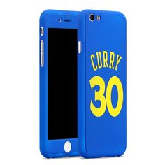 New! Sports Basketball Star Full Body Protector Case Cover for fundas iPhone 7 6 6S Plus Michael Jordan Air 23 kobe Bryant Curry