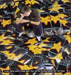 clássicas capas dos anos 90 esta é da marca plan b skateboards do ano de 1993 com o skatista profissional rodney mullen.